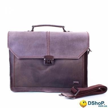 93249701a079 Мужской кожаный портфель с карманом для ноутбука ETERNO (ЭТЭРНО) ET6133