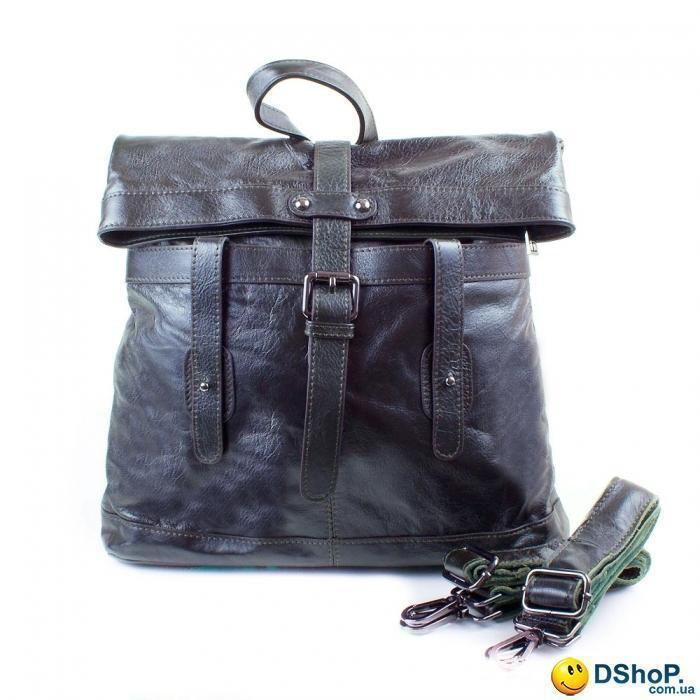 d34396a690d1 Женская кожаная сумка-рюкзак (трансформер) ETERNO (ЭТЭРНО) ET0073-black-