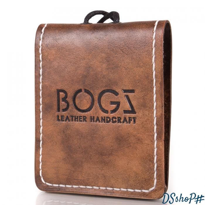 1d38163f8da4 Мужское кожаное портмоне ручной работы BOGZ (БОГЗ) BZ-4-A113 купить Киев