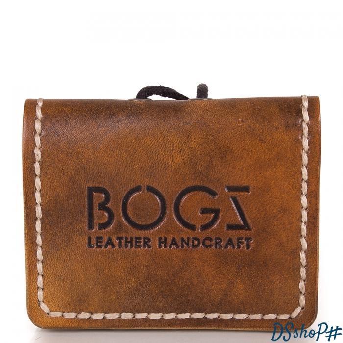 299679ee8f20 Мужское кожаное мини-портмоне ручной работы BOGZ (БОГЗ) BZ-5-A103 ...