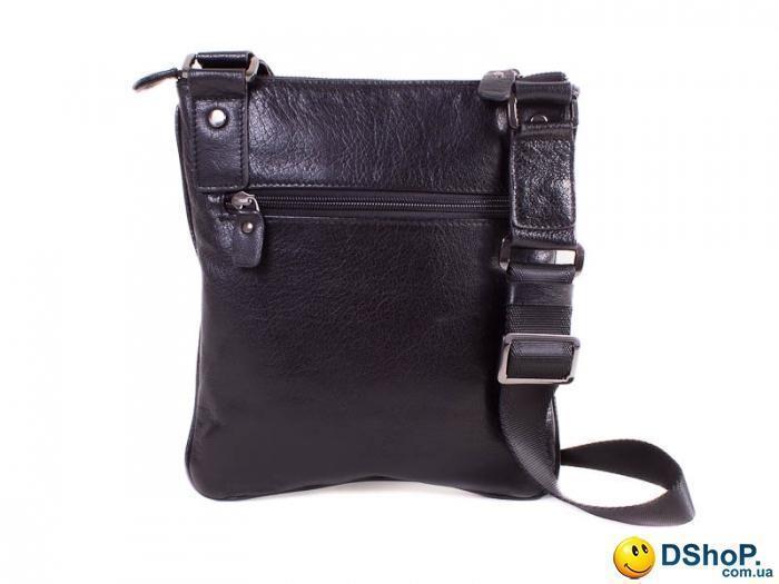 cb1fbfb9b03f Кожаная мужская сумка через плечо ETERNO (ЭТЭРНО) E330067-black ...