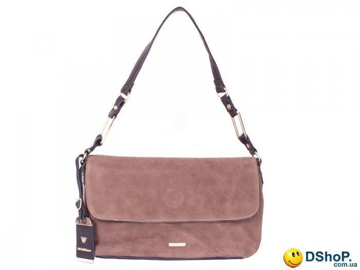 a266a21b4568 Женская сумка VELINA FABBIANO (ВЕЛИНА ФАБИАНО) DS67887-4-black-coffee